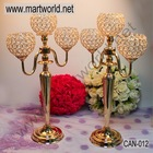 3 arms wedding candle holder,wedding table decoration,wedding candelabra for wedding decoration(CAN-012)