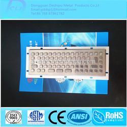 New Arrival Best Quality Industrial Metal Keyboard/Kiosk Metal Keyboard