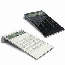 Hairong 8 digit desktop world time alarm clock calendar calculator
