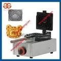 Gaz forme d'ours gaufrier machine/gaufrier/gaufre de cuisson machine