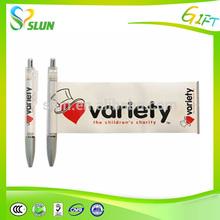 wholesale alibaba logo pen retractable marketing pens