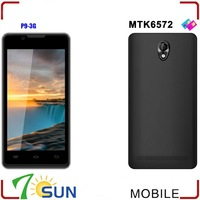 P9 Smartphone Android 4.2 MTK6572 4.5 Inch Screen Dual SIM WIFI FM MP4 android cell phone 5 inch touch screen