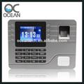 de oficina y equipos de la escuela del personal y los estudiantes effcient de asistencia biométrico de huella digital tiempo de grabación de la máquina