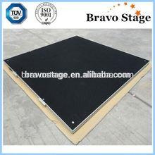 Aluminum plywood stage adjustable portable event stage manufacturer