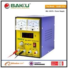 220V and 110V BAKU 1502T + 15V 1A Adjustable DC Power Supply Mobile phone repair power test regulated power supply