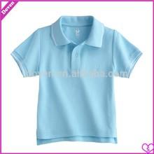 blank Kid's cotton polo t-shirt