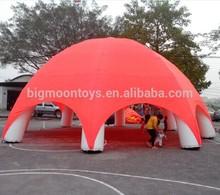 2015 hot big inflatable spider tent