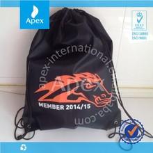 back pack waterproof nylon drawstring bag