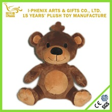 Animal series sitting bear plush toy custom lovely teddy bear for holiday gifts