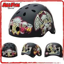 Planting color ABS material keyring helmet for kids