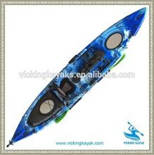 2014 New designed Pro angler fishing kayak wholesaler sit on top kayak from Vicking manufacturer in Ningbo China