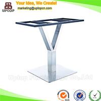 (SP-STL255) Welding decorative metal stainless steel coffee table legs