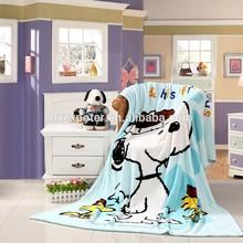Fashion Children Blanket, Super Soft Printed Coral Fleece Blanket