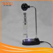 Levitation Display Shelf,LED Plastic Magnetic Levitating Cosmetic Bottle Display