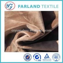 single sided Super soft fleece fabric for sofa cover fabric