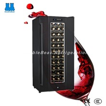 JC-180A 180L upright auto defrost TEC cooling red wine refrigerator