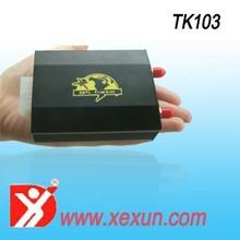 mobile tracking system TK103 car gps tracker dual sim card better than coban tk103B