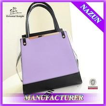 New style fashion elegant pu leather handbag women bag
