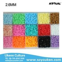 hot sale and wholesale artkal mini C-2.6MM iron beads jewelry making kits