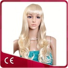 Long Blonde Cosplay Synthetic Hair Wig