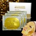 Nuevo lanzamiento de super rápidamente gel anti- edad de brillo y anti- edad puro 24k de oro puro máscara de la cara de las marcas de cosméticos