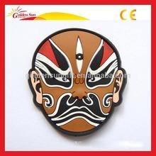 Promotional Rubber Souvenir Fridge Ceramic Magnet