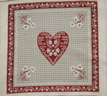 jacquard cushion polycotton cushion for home &hotel decoration &promotion&gift red sweet heart design-31