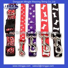 2015 High quality fashion dog collar and leash