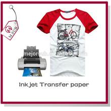 100% cotton fabric T-shirt with heat press machines