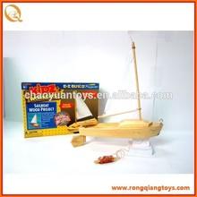 Mô hình đồ chơi bằng gỗ bán chạy trang trí tàu thuyền BK997020423