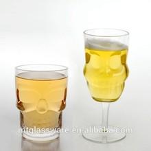 Wholesale Food grade skull whisky glasses, skull bottle, DOF glass.Tumbler