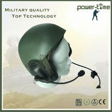 Casco militar kevlar body armor con el auricular PTE-746