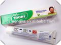 Tooby marca de boa qualidade creme dental fórmula 60 g 160 g
