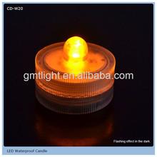 decoration led floating candle bowl