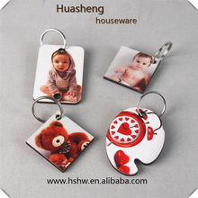 Good quality most popular sublimation felt keychain