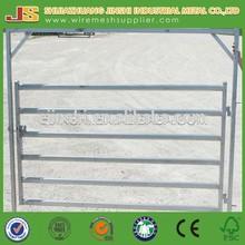 Heavy duty pre galvanized metal rails Cattle Yard Gates