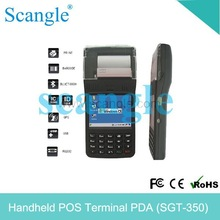 Rugged PDA with mobile printer/data collector PDA