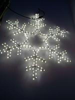 230V/110V/24V Led Christmas decorative large snowflake light size customize