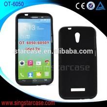 soft tpu fit clear phone case for alcatel idol 2s ot6050