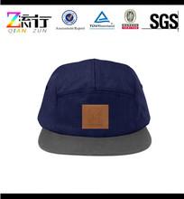 Custom leather patch hip -hop caps mens snapback caps