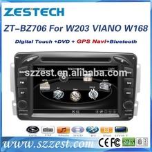ZESTECH Factory OEM CE Certification and 7 inch 2 din car dvd for Mercedes benz w203 C Class 2000 2001 2002 2003 2004 2005