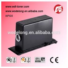 for NP3030/3035/3530/3570/4570/3050 copiers, compatible canon copier toner cartridge NPG5