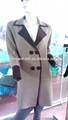 الفاخرة ذات جودة عالية أزياء سيدة محبوك الكشمير معطف من القماش