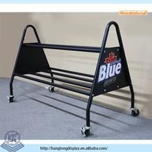 Outdoor metal basketball display rack HL001G