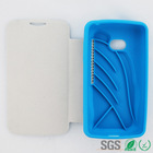 Shockproof Protection Case Cover TPU+PU Leather Cover Case for LG L50 D213N