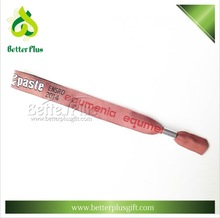 Woven material entrance wristband as promotional gift items