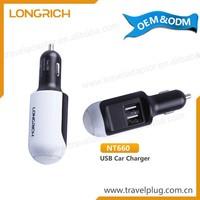 Universal 12V 220V Portable Single/Double Usb Universal Car Charger