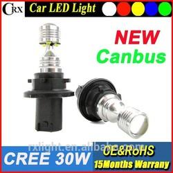 2015 New design 10-30v 30W 1156 1157 3156 3157 7440 7443 880 881 fog light White Car Reverse Back Up Led auto light