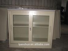antique furniture seal high polymer kitchen small sliding door cabinet