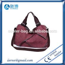 2015 young girl canvas stylish women handbag